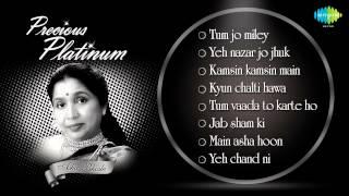 Best Of Asha Bhosle | Precious Platinum 79 Years Of Asha Bhosle | Old Hindi Songs