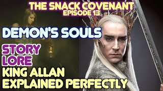 Demons Souls Summary, lore and story with JSF
