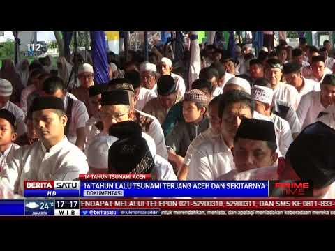 Ratusan Warga Banda Aceh Peringati 14 Tahun Gempa dan Tsunami