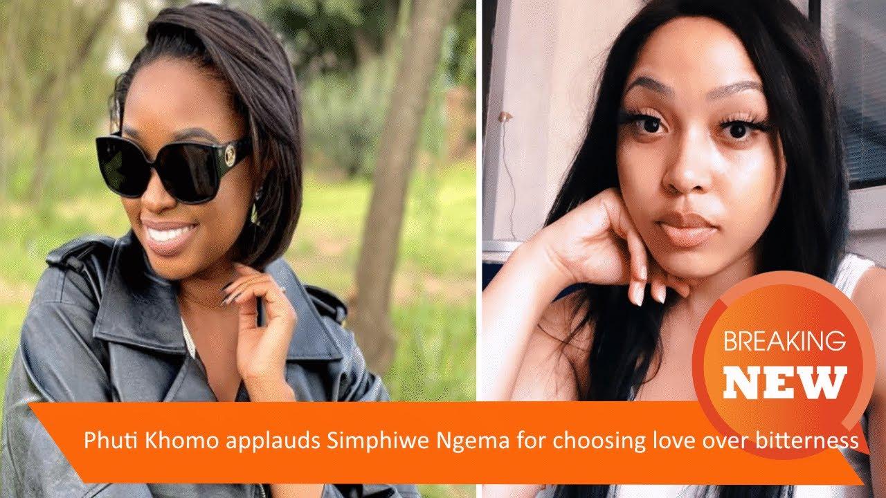 Phuti Khomo applauds Simphiwe Ngema for choosing love over bitterness