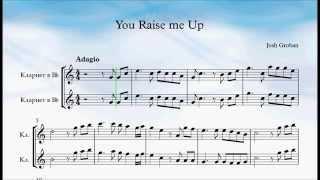You Raise Me Up Clarinet