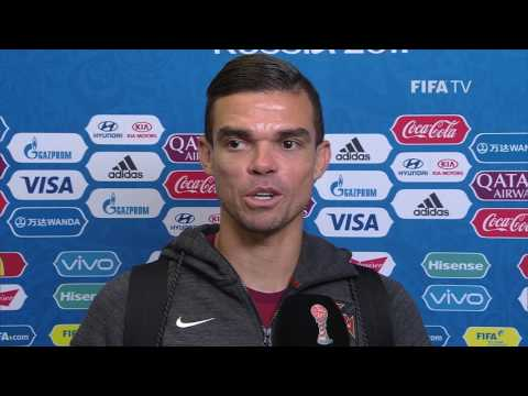Pepe - Post-Match Interview - Match 15: Portugal v Mexico - FIFA Confederations Cup 2017