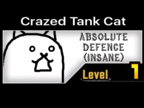 [The Battle Cats] Crazed Tank Cat: Absolute Defence (Insane)