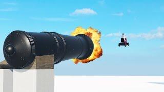GIANT CANNON OF DEATH ( StuntFest #2)