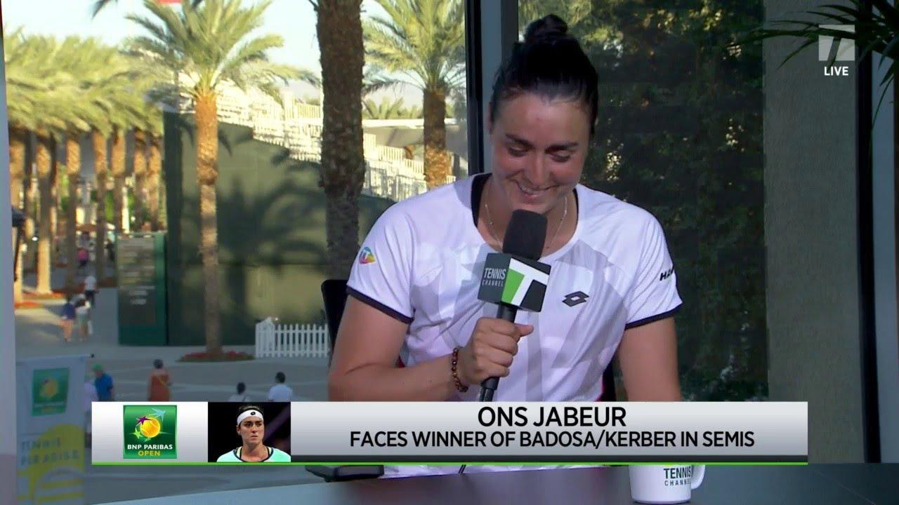 Download Ons Jabeur: 2021 Indian Wells Quarterfinal Win Interview