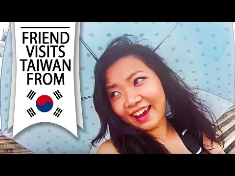 TRAVEL TAIWAN with My Friend from Seoul Korea 韓國人遊台灣 #2