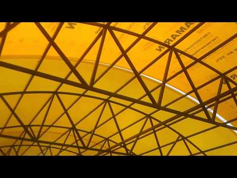 Как стелить поликарбонат на навес видео