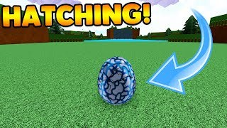 THE EGGS ARE HATCHING! | Build A Boat For Treasure ROBLOX