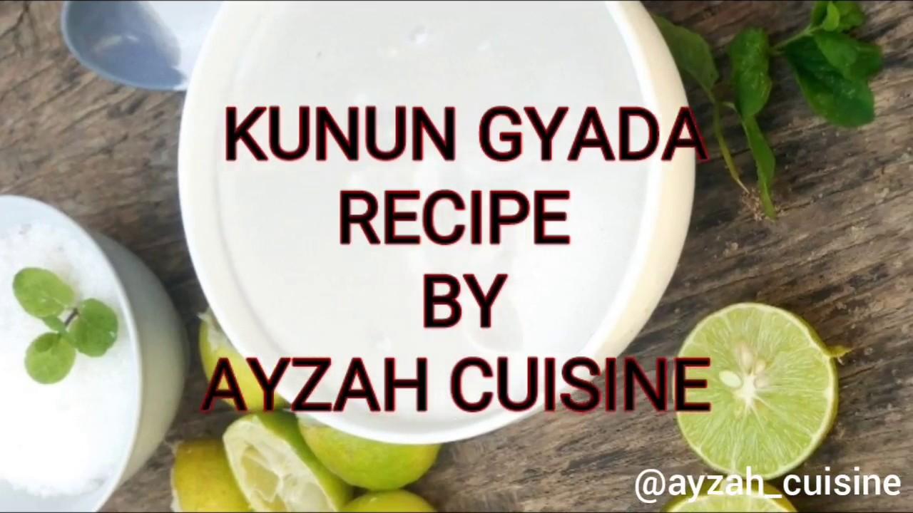 Download EASIEST KUNUN GYADA RECIPE /BY AYZAH CUISINE