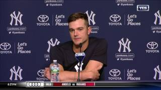 David Robertson on Mariano Rivera, returning to Yankee Stadium as a Yankees player