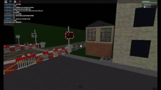 Revisiting New Malden level crossing, London (New LED lights) roblox