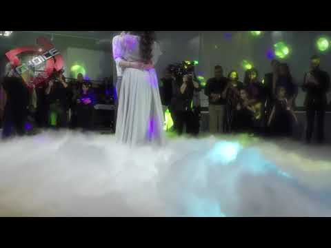 DRY ICE by CHOICE DJ - The Perfect Wedding First Dance Photo