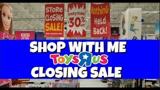 Shop With Me Toys R Us Closing Sale