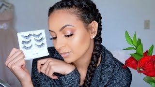 How to Apply fake Eyelashes for Beginners? የአይን ሽፍሽፍት