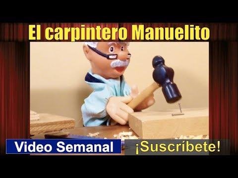Apoyando a la familia: El carpintero Manuelito (60) cuento con valores