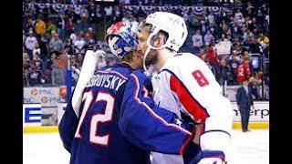 """Бобровский остановил """"Вашингтон"""" и сыграл на ноль!"""