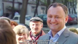 Игорь Додон. От первого лица