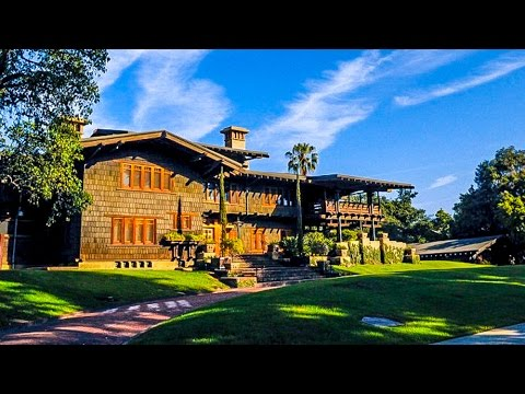 Pictures of gamble house pasadena ca