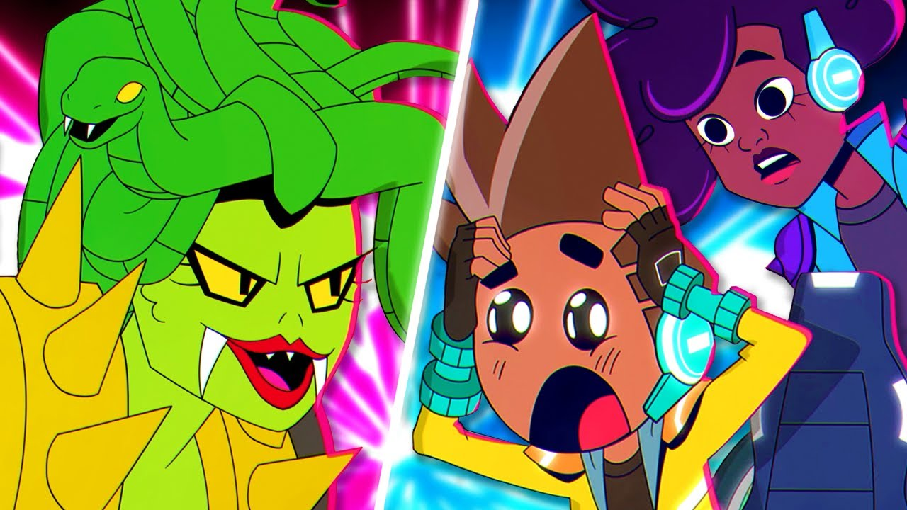 Download MISS SLITHER GLITCHES THE WARRIORS! | AKEDO: Ultimate Arcade Warriors | S01E07