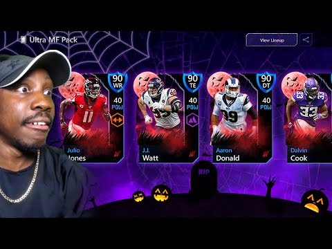Getting 90 OVR MOST FEARED MASTER IN PACK OPENING! Madden Mobile 20 Gameplay Ep. 11