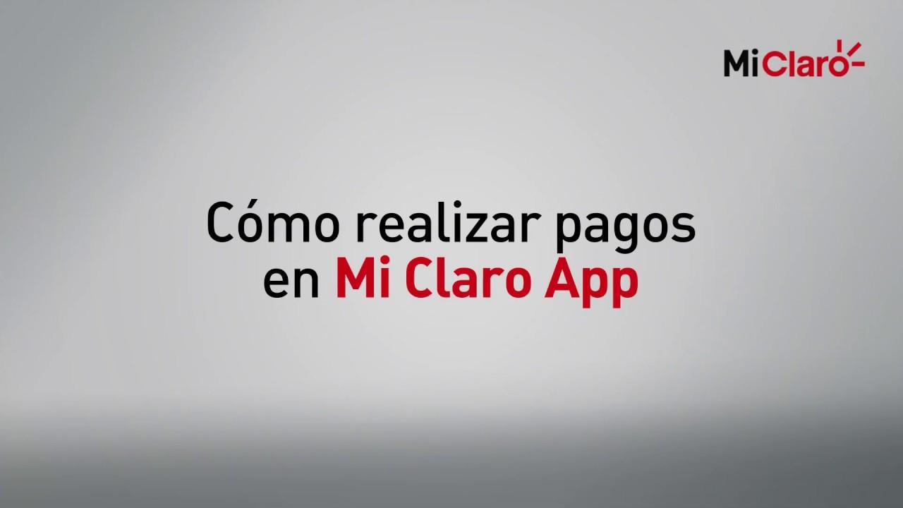 Claro Rd Tutorial De Pago De Servicios En Mi Claro App Youtube