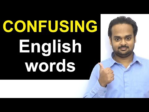 10 COMMONLY CONFUSED Word Pairs in English - May be / Maybe | Every Day / Everyday | Lose / Loose