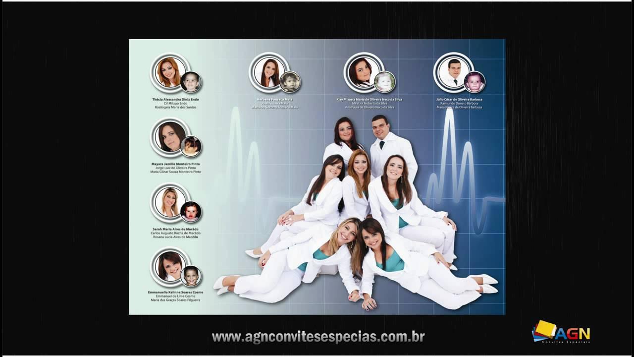 Convite De Formatura Turma De Enfermagem Unp 20101 Youtube