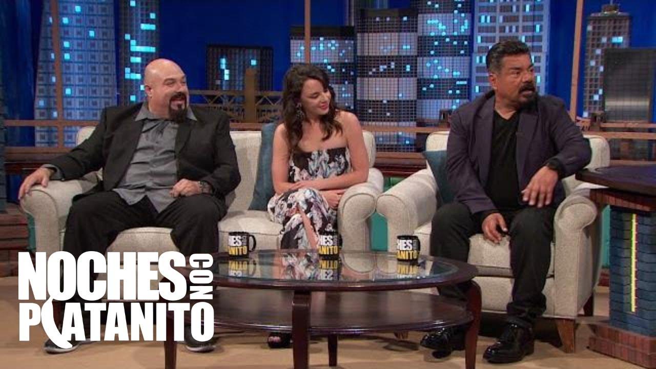 Entrevista con George Lopez, Hayley Huntley y Anthony Campos - Noches Con Platanito