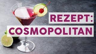Kult-Cocktail Cosmopolitan: Schnelle Anleitung für zu Hause 🍸 | REZEPTE
