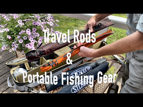 Recommendations For Travel Rods & Portable Fishing Gear