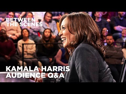 Kamala Harris - Between the Scenes Guest Edition | The Daily Show