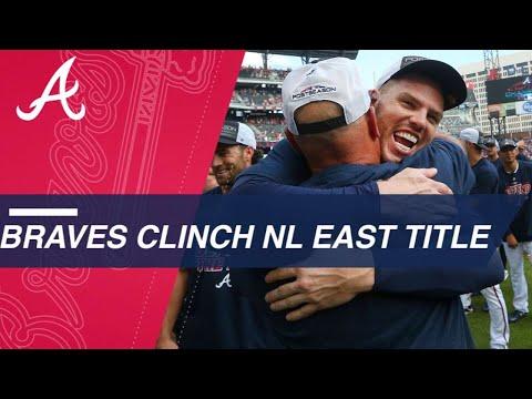 Braves capture NL East division crown