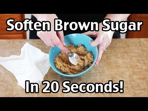 How To Soften Brown Sugar In 20 Seconds