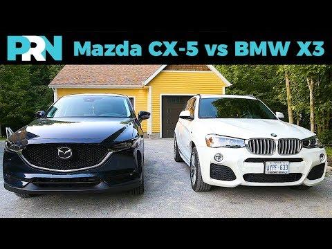 Mazda CX-5 vs BMW X3 | TestDrive Showdown