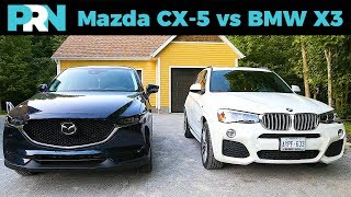 Mazda CX-5 vs BMW X3 | TestDrive Showdown