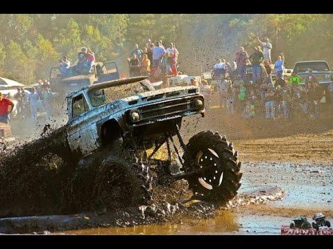Mudding Trucks in DEEP MUD HOLES 2017