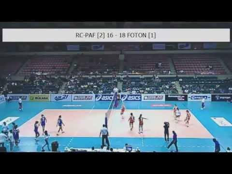 Foton vs RC Cola Air Force (Nov 15, 4pm)