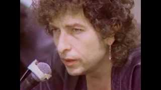 Thought I'd post this previously unseen recording of a Dylan press ...
