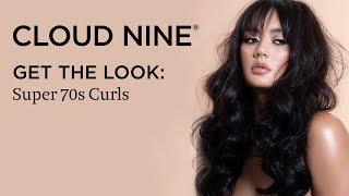 GET THE LOOK: Super 70s Curls