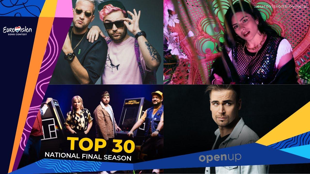 Eurovision 2021   NF Season: My Top 30 (30/01/2021)