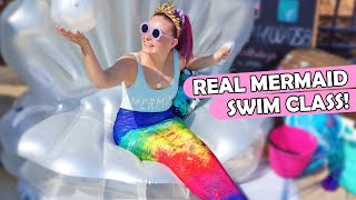 I Took A Real Mermaid Swimming Class!