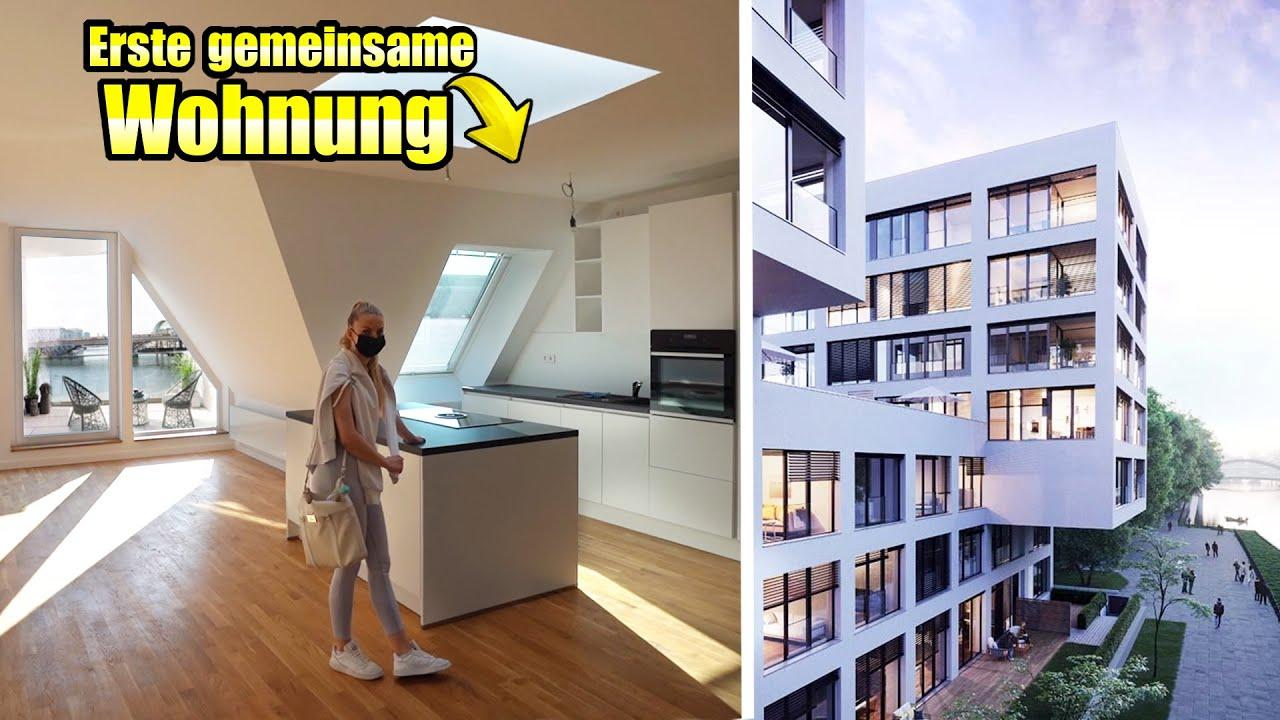 UNSERE erste gemeinsame WOHNUNG in Berlin! | RoomTour und Besichtigung | TomSprm