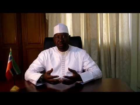 Dialogue with Gambian youths