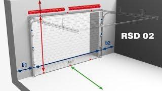 видео Выбор и установка автоматических рулонных ворот