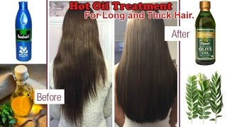 Grow Thick & Long Hair with Hot Oil Treatment | 100% works - Super Effective