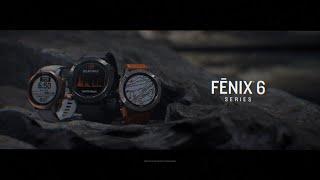 Garmin Fenix 6 Sapphire Black DLC with Heathered Red Nylon Band - Jam Tangan Garmin Fenix6- Garansi Resmi TAM