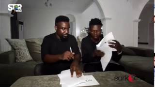 Sarkodie signs Strongman to Sarkcess Music label
