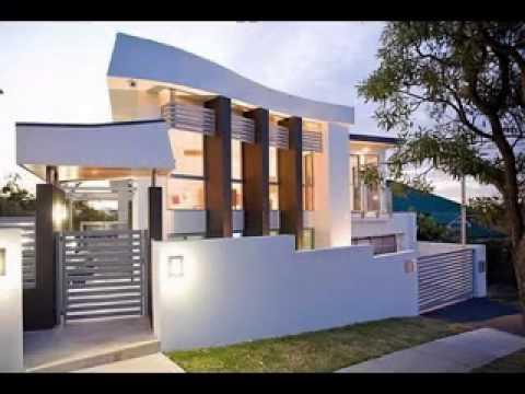 Modern contemporary house design ideas youtube for Best contemporary house design