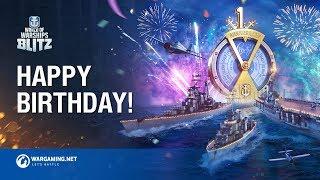 Happy Birthday World of Warships Blitz!