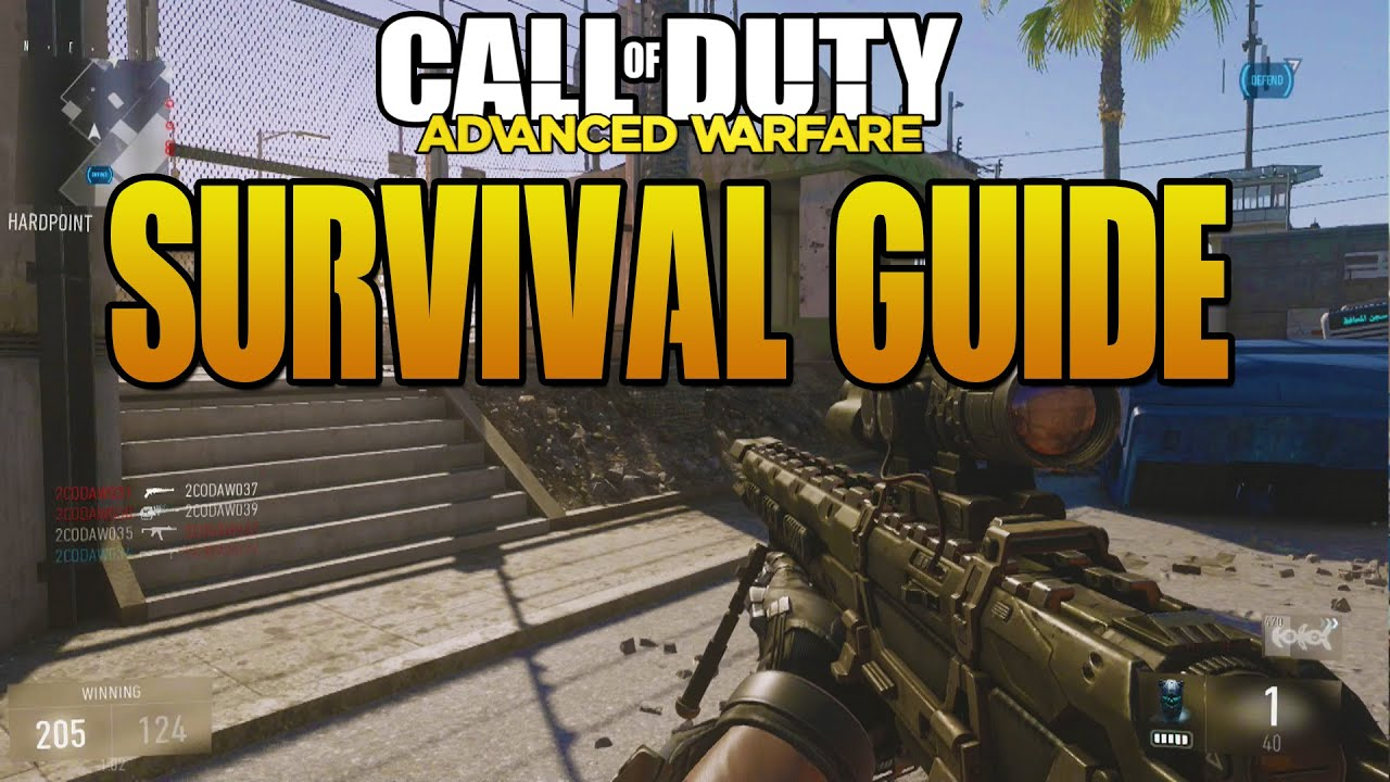 Advanced Warfare - Exo Survival Round 100+ Strategy Guide ...